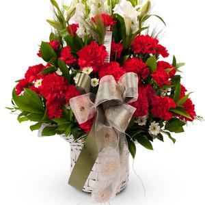 카네이션꽃바구니-감사의마음담아