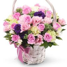 카네이션꽃바구니-울엄마