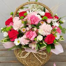 감사꽃바구니 꽃밭05